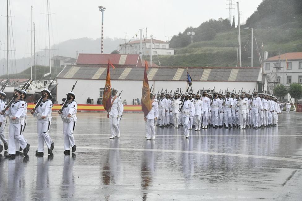 El acto tuvo lugar en la Esengra. FOTO: Armada