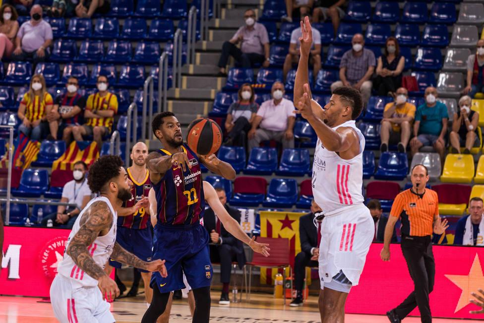 El Barcelona contra el Real Madrid de la Liga ACB
