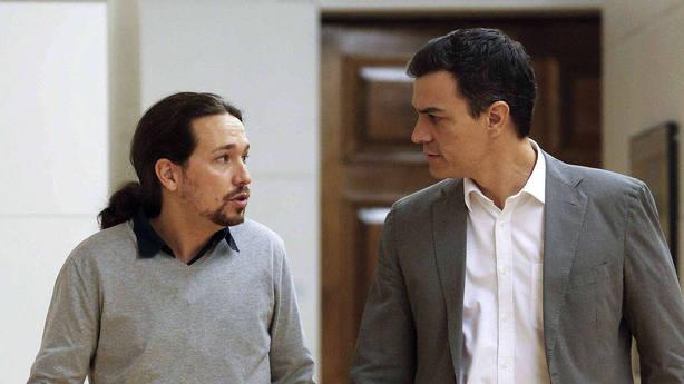 Iglesias condicionará el apoyo a Sánchez a un plan social y económico