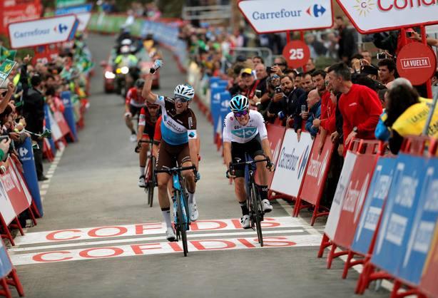 Alexandre Geniez ganador de la duodécima etapa de la Vuelta