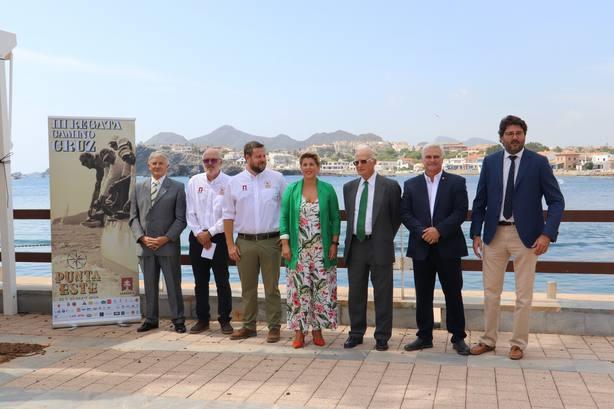La III Regata Camino de la Cruz impulsa la proyección turística de la Región de Murcia