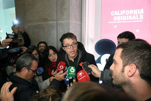 Errejón se desmarca de la alerta antifascista de Iglesias