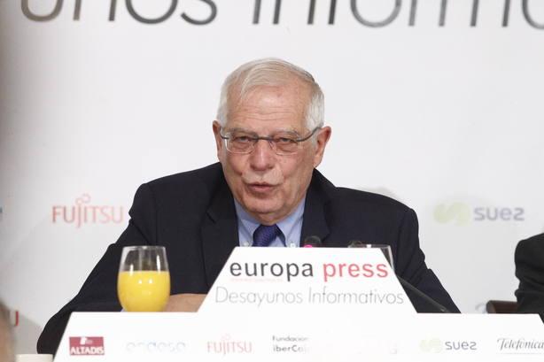 Borrell cree que los independentistas permitirán la tramitación de los PGE, y eso ya es un paso adelante