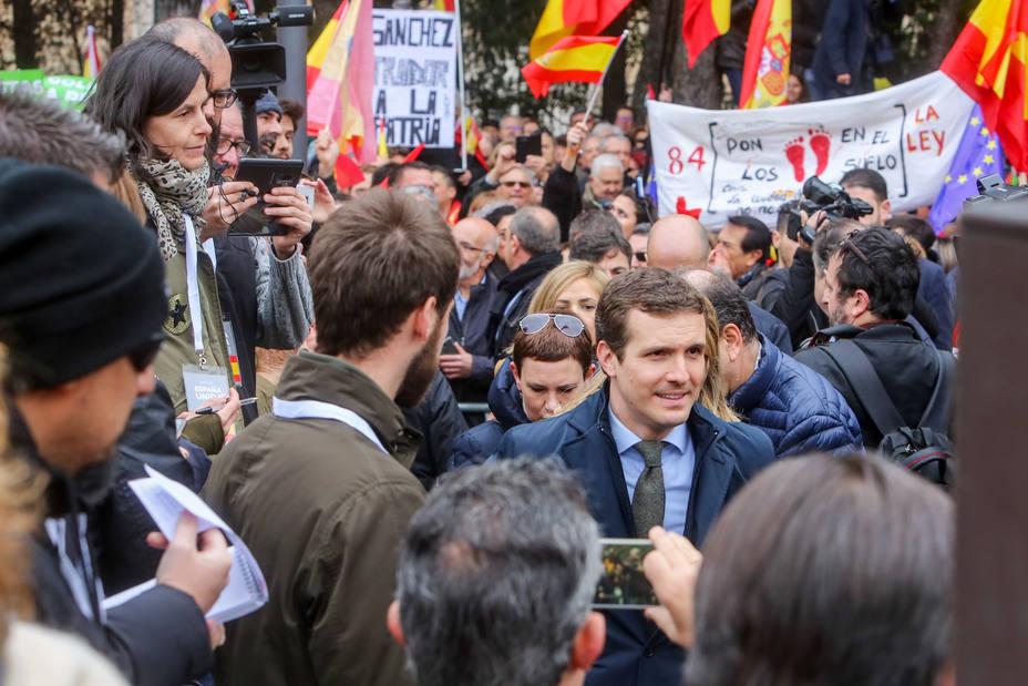 Génova ve un clamor contra la humillación de Sánchez por mucho que se trate de manipular la protesta