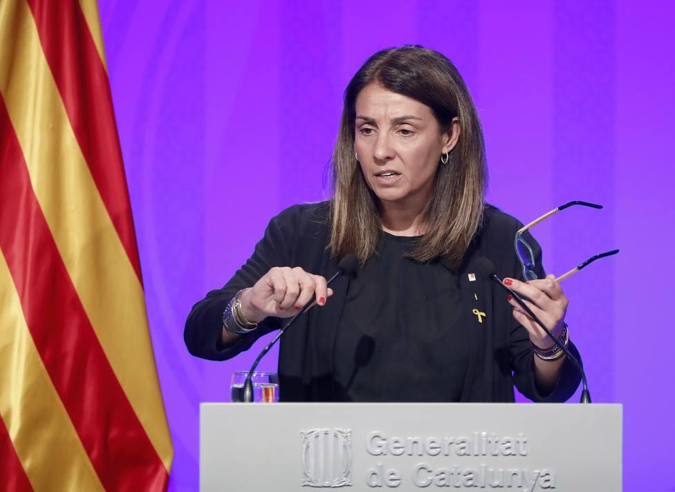 Así es Budó, la polémica portavoz del gobierno catalán que jugaba de pequeña con los hijos de Pujol