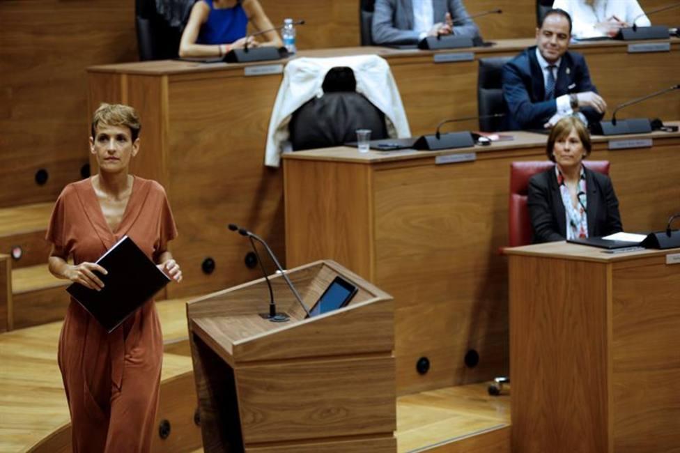 Dos ayuntamientos, la primera concesión de Chivite a EH Bildu