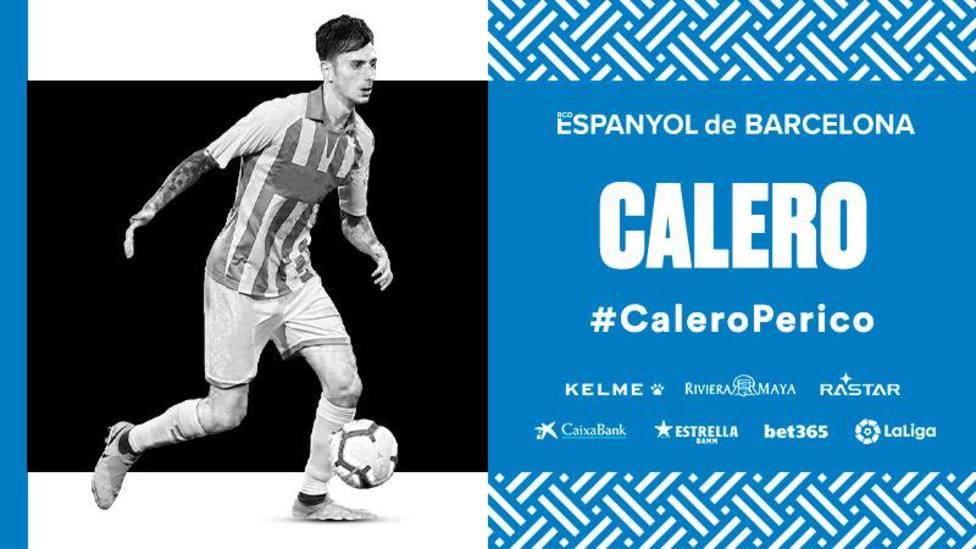 Fernando Calero, nuevo jugador del Espanyol