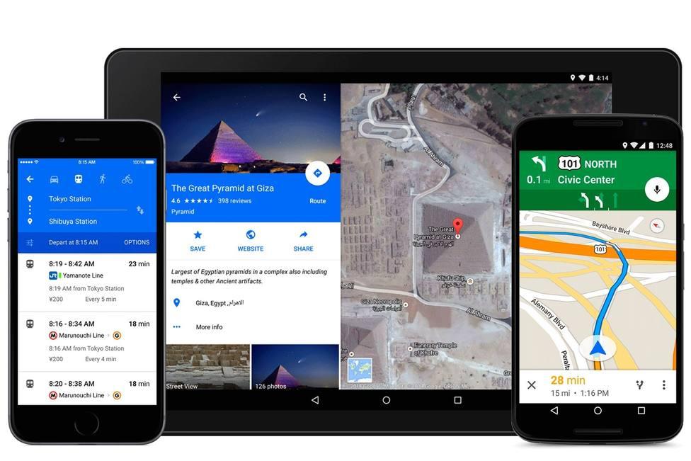 Google Maps actualiza su navegación mostrando aún más instrucciones de ruta