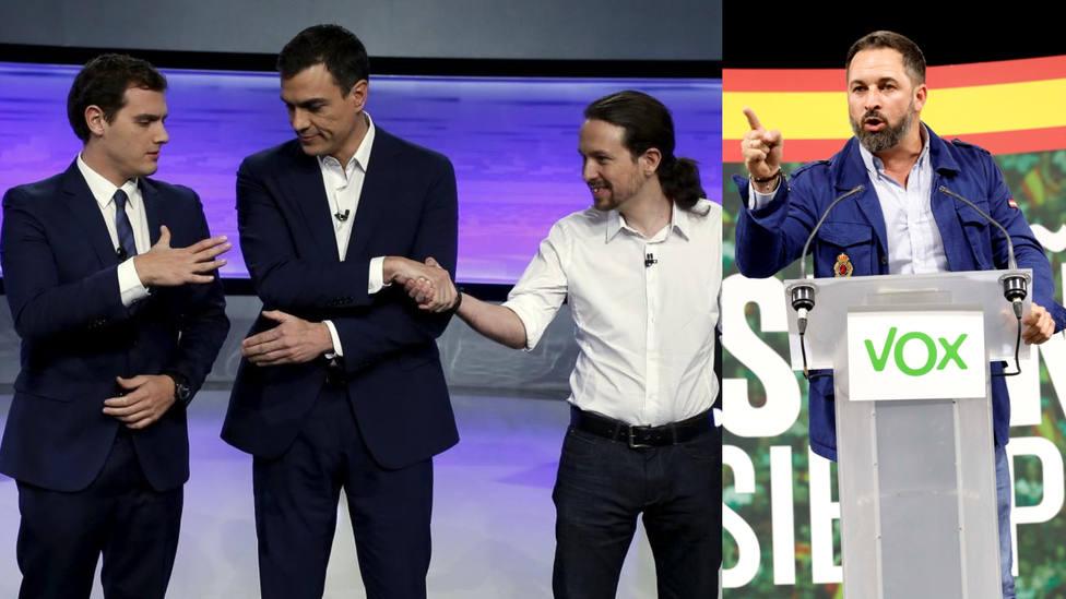 El alzamiento de Vox hace temblar a Podemos y hunde a Rivera tras la sentencia del procés