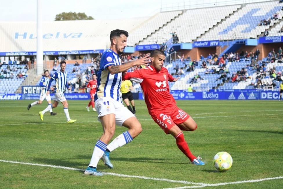 Real Murcia y Recreativo de Huelva empatan en un partido sin historia (0-0)