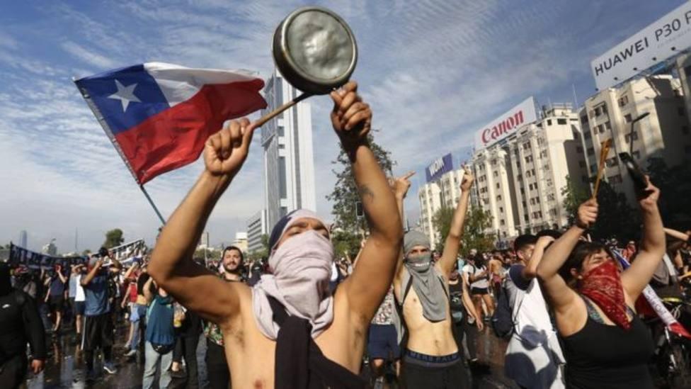 El Gobierno de Chile investiga una posible injerencia extranjera en la oleada de protestas