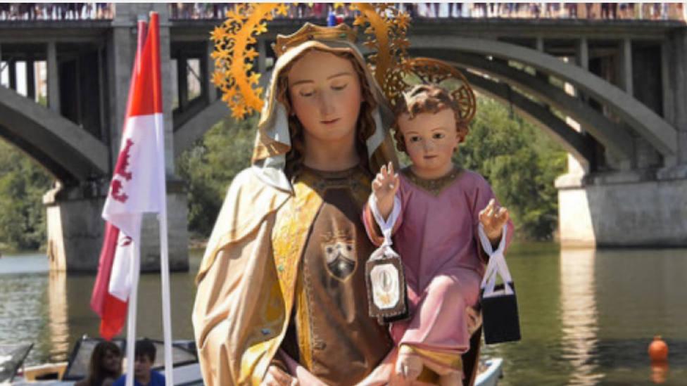 La Virgen del Carmen navegará por el río Pisuerga este domingo en recuerdo de las víctimas del coronavirus