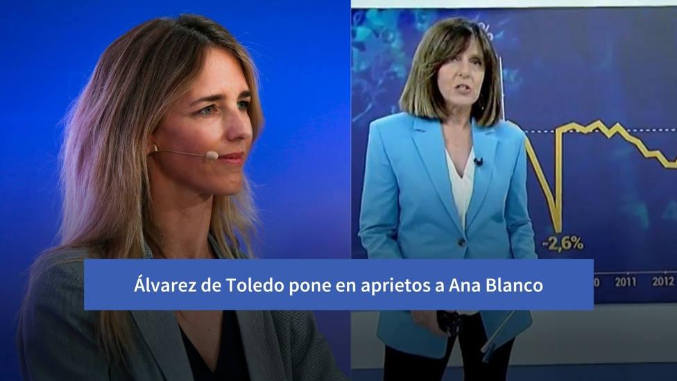 El tuit de Cayetana Álvarez de Toledo que pone en un aprieto a Ana Blanco