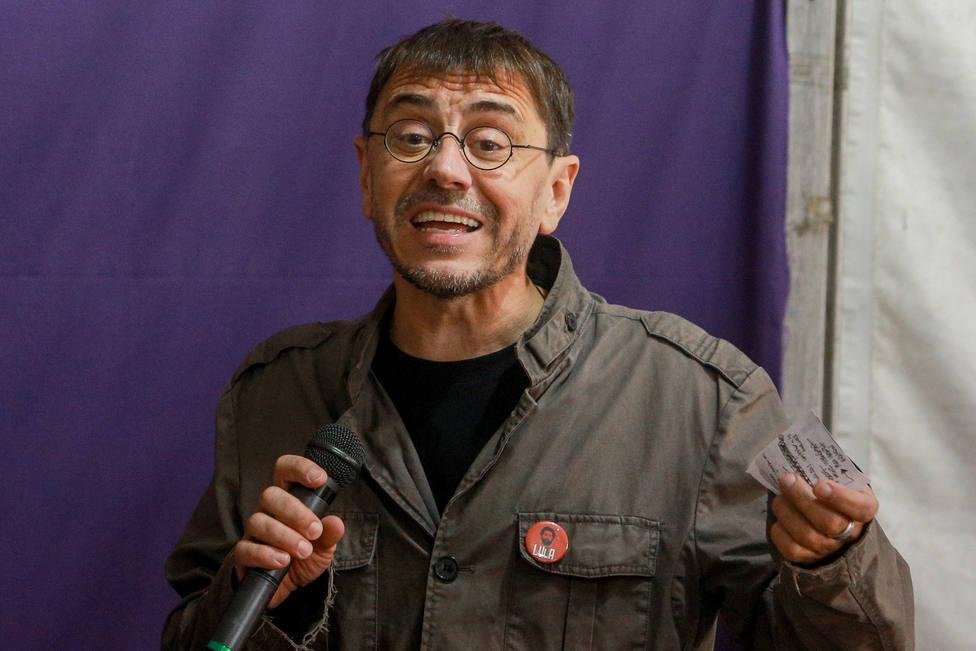 """Monedero compara """"el ataque a Podemos"""" con el 11-M y las redes contestan: """"Hay que agotar todas las balas"""