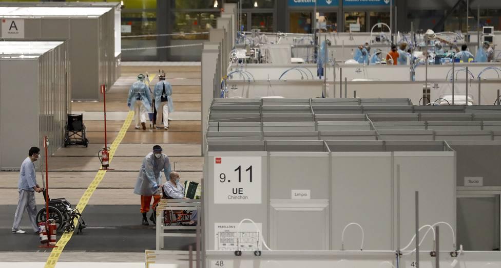 Madrid se plantea reabrir el hospital de Ifema debido al aumento de los casos de coronavirus