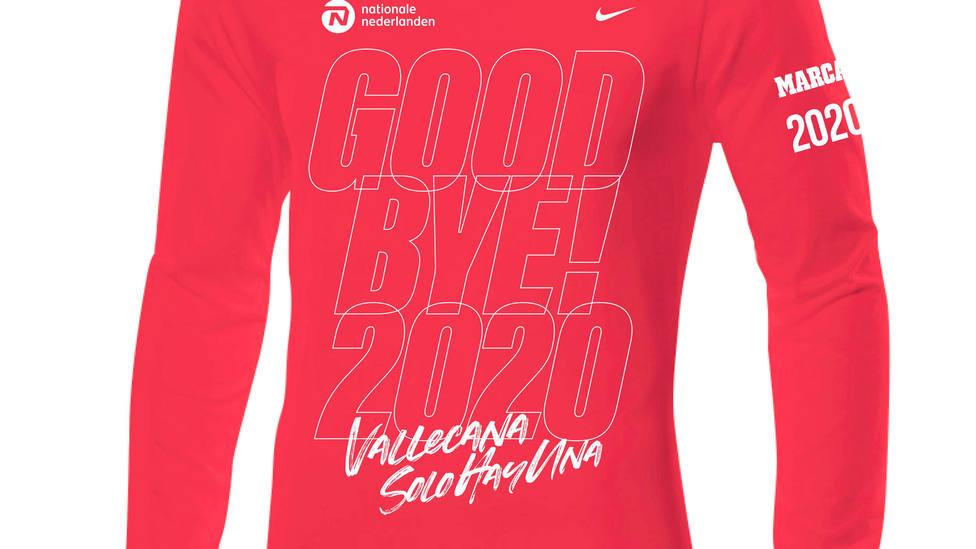 Imagen de la camiseta de la edición 2020 de la San Silvestre Vallecana