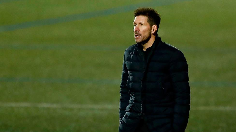 Diego Simeone, entrenador del Atlético de Madrid. CORDONPRESS