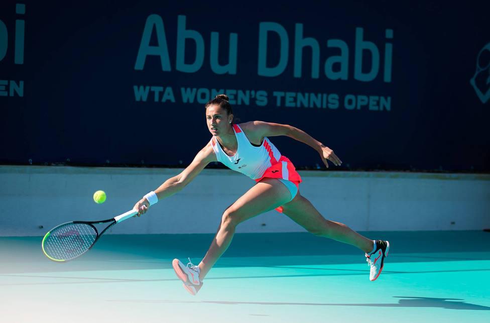 Tennis Internationals - 2021 Abu Dhabi WTA Womens Tennis Open WTA 500 tournament - First round