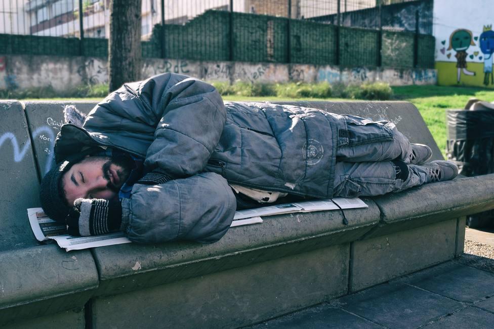Hostales y albergues para los sin techo en la ola de frío