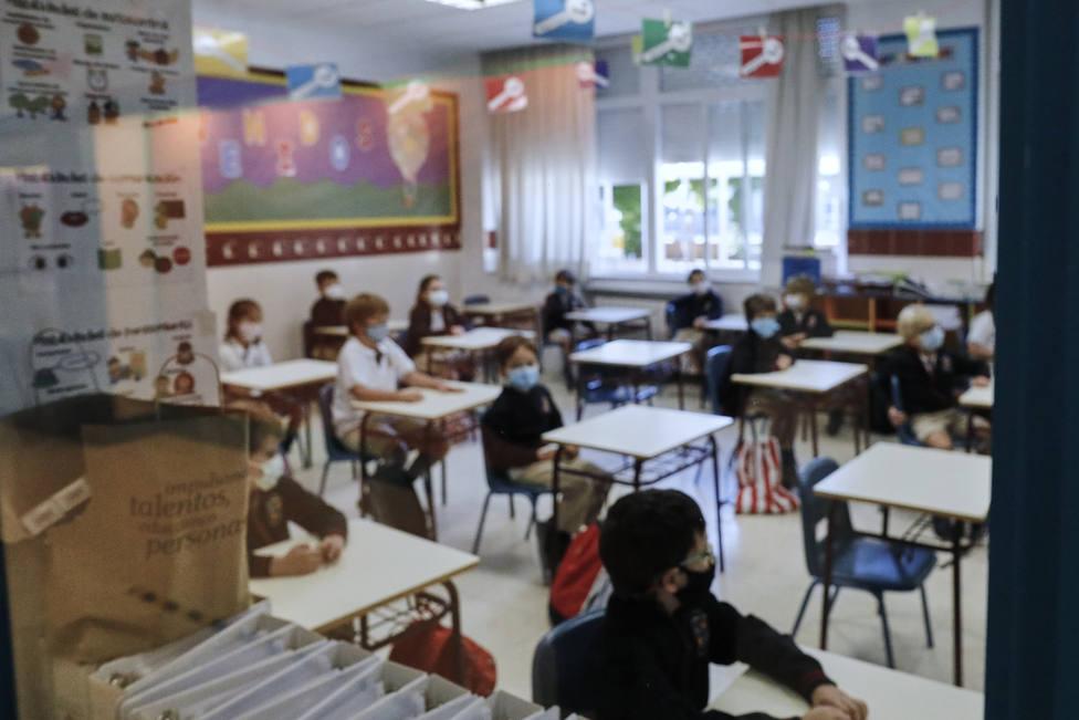 Foto de archivo del interior de un centro escolar - FOTO: Europa Press / Jesús Hellín