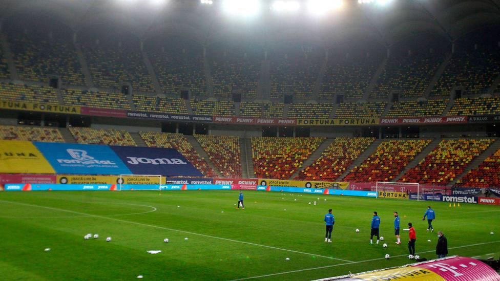 Interior del Nacional Arena de Bucarest. CORDONPRESS