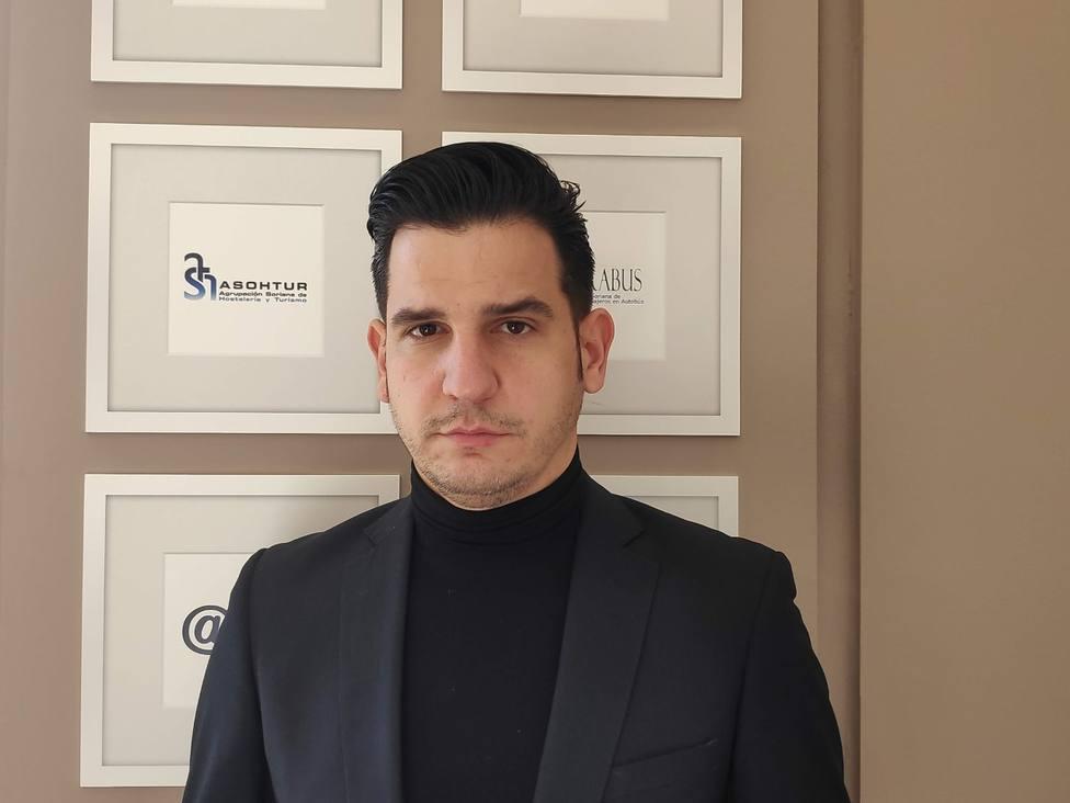 Pablo Cabezón, presidente de los hosteleros sorianos