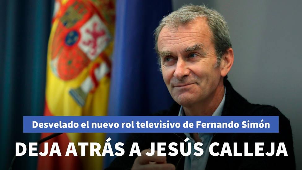 Desvelado el nuevo rol televisivo de Fernando Simón: deja atrás a Jesús Calleja
