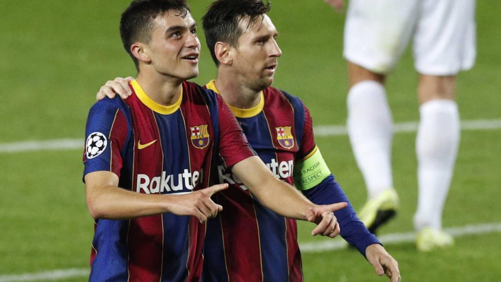 Pedri recibe la llamada de Luis Enrique para la selección española