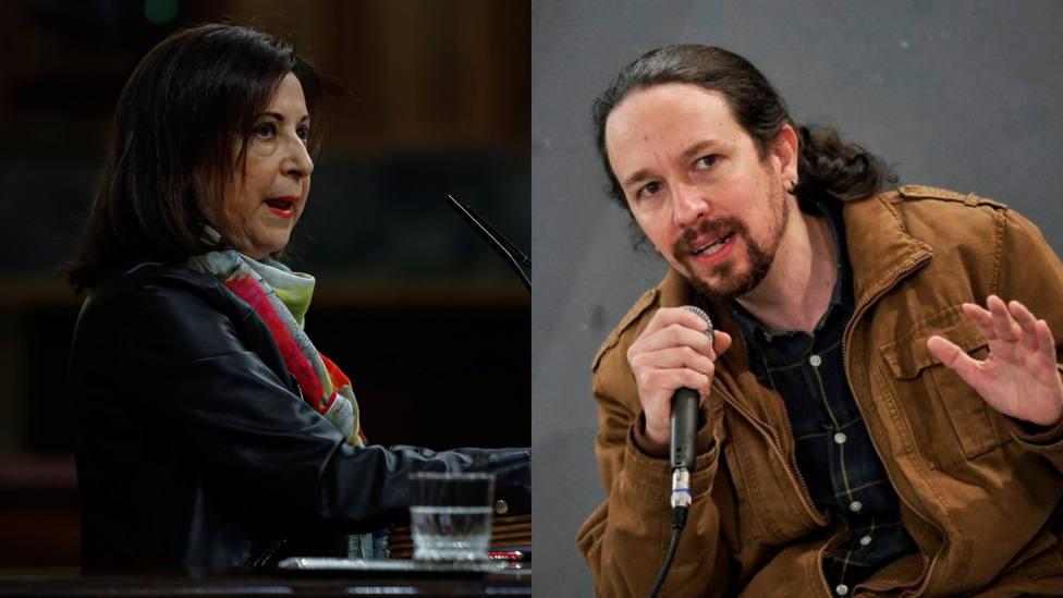Sale a la luz el llamativo gesto que Margarita Robles tuvo con Iglesias en su último Consejo de Ministros