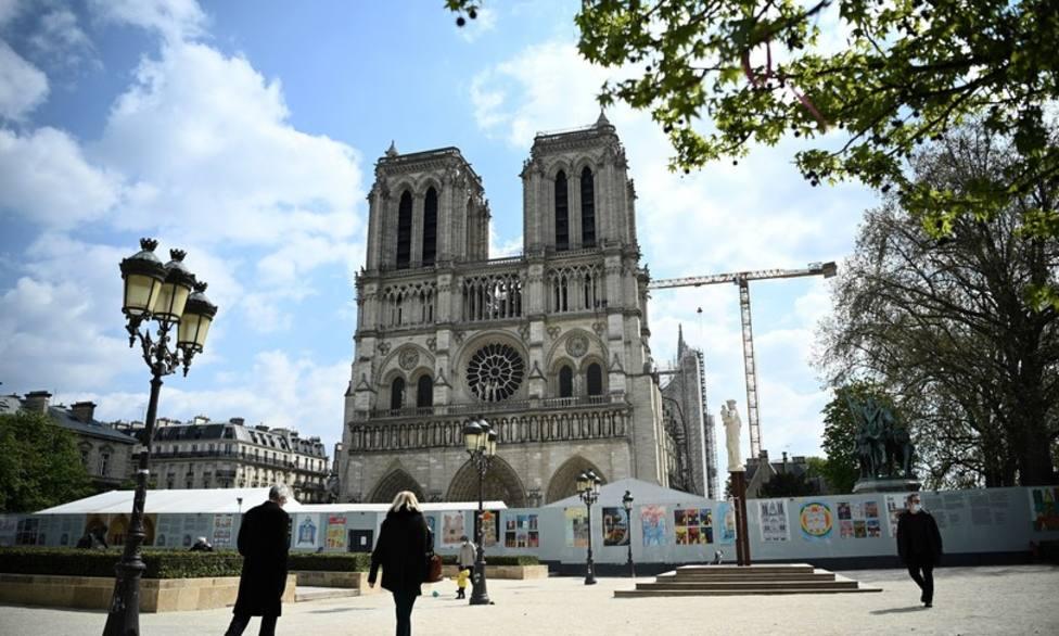 Dos años después del incendio, Notre Dame de París avanza hacia su reconstrucción