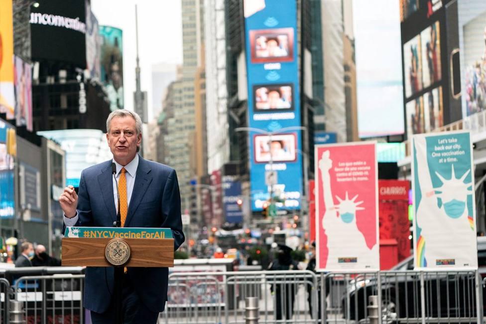 Nueva York quiere ofrecer la vacuna de Janssen a los turistas que visiten la ciudad
