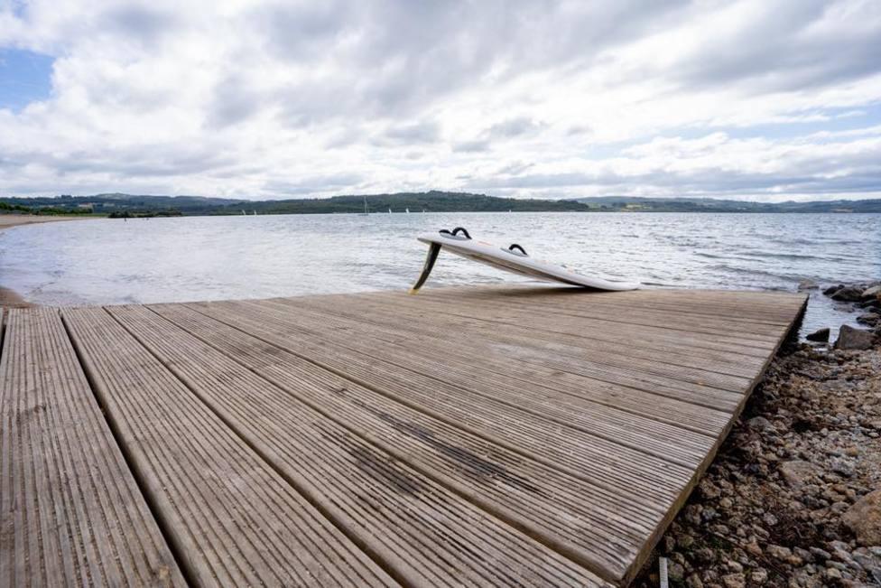 Foto de archivo del lago de As Pontes - FOTO: Mundito Carballo