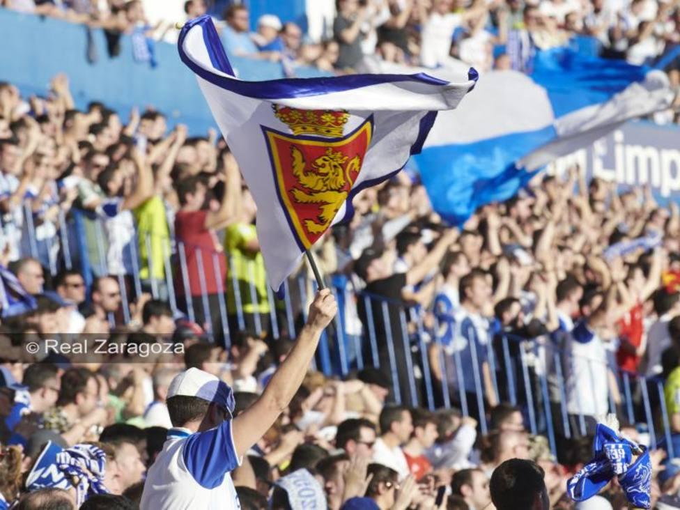 La Romareda. Real Zaragoza - Deportivo. La Liga.