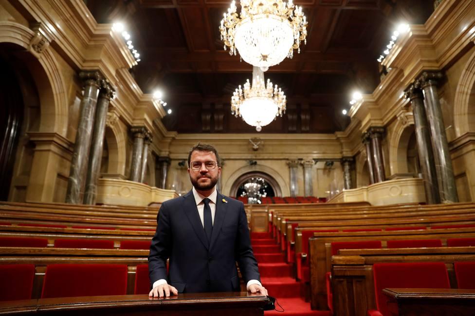 Estos son los nombres que Pere Aragonès prepara para culminar la independencia de Cataluña