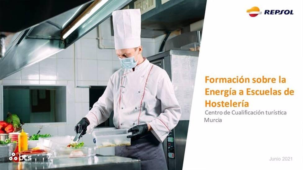 El CCT, elegido por Repsol para impartir un taller de sostenibilidad y eficiencia energética en la hostelería
