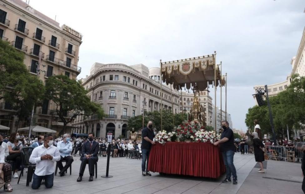 El Corpus Christi en Barcelona declarado Fiesta Patrimonial de Interés Nacional