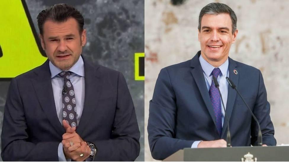Iñaki López y Pedro Sánchez