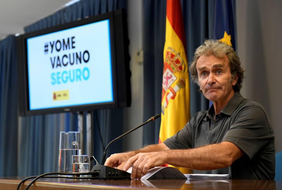 Fernando Simón, sobre la incidencia entre los jóvenes: No podemos escudarnos en la variante Delta