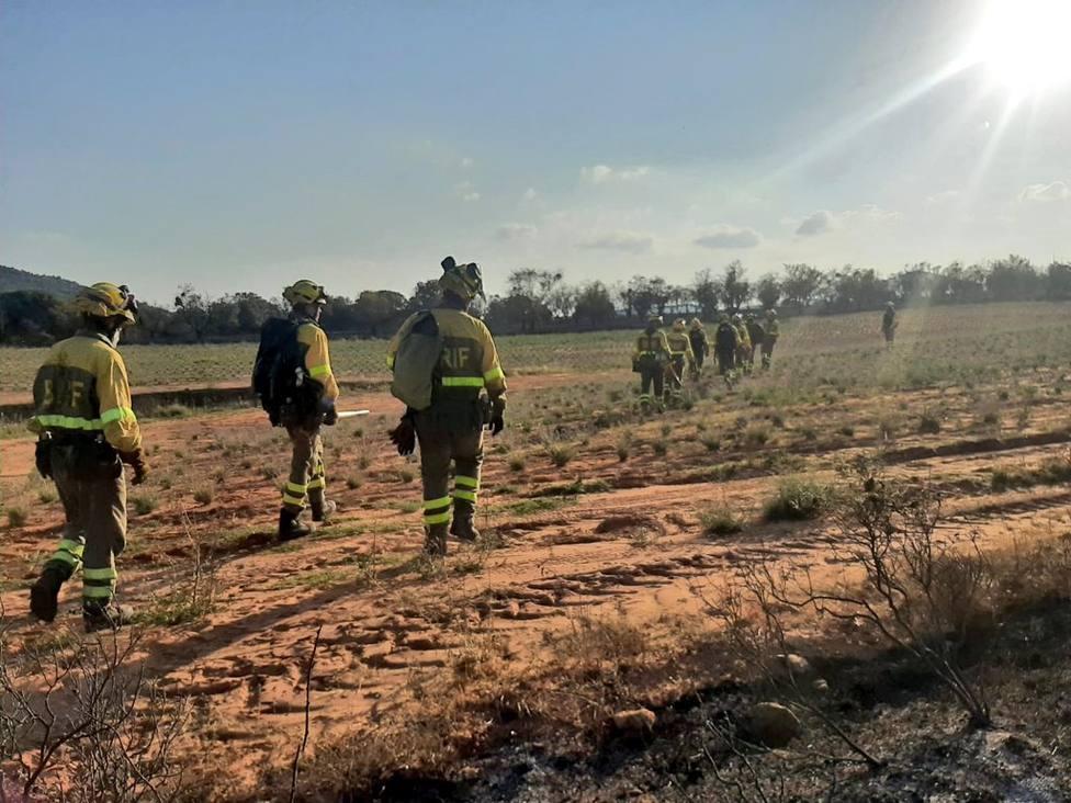 El incendio del monte Yerga comenzó en un área recreativa en la que no está permitido el fuego