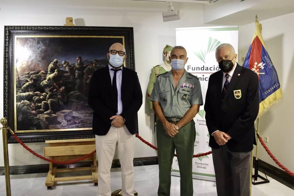 El Centro Unicaja de Almería acoge hasta el día 15 el cuadro de Ferrer-Dalmau por el centenario de La Legión