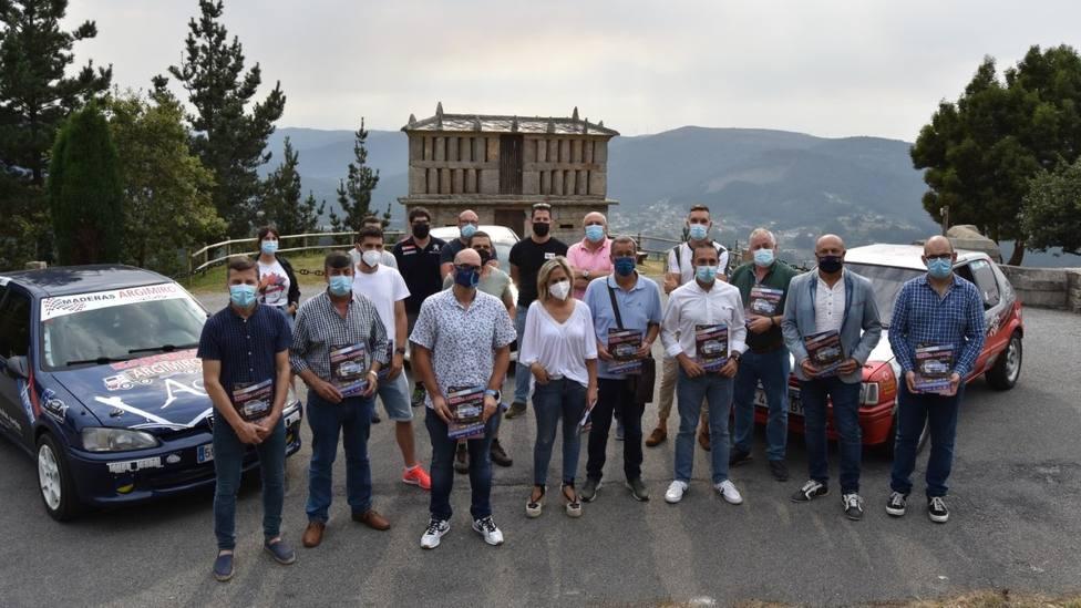 Organizadores y entidades patrocinadoras del III Rallye Mariña Lucense