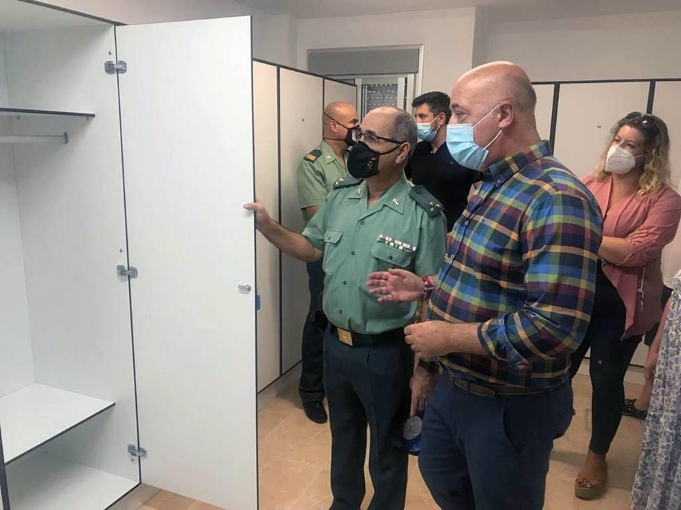 La Diputación destina 15.000 euros a la mejora del cuartel de la Guardia Civil en Rute