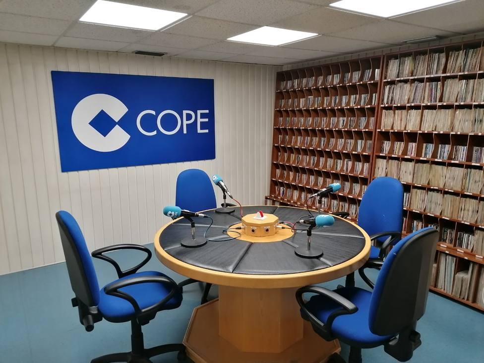 Estudios de la cadena COPE Ferrol ubicados en la Plaza de España