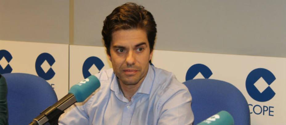 Victor Salagarai en el estudio de La Tarde