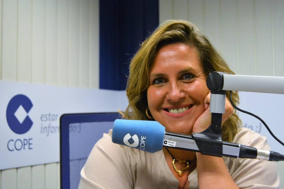Cristina López Schlichting en Fin de Semana