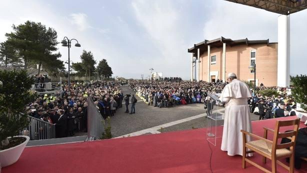 Francisco en Pietralcina