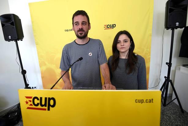 La CUP mantiene la abstención y hará posible mañana la investidura de Torra