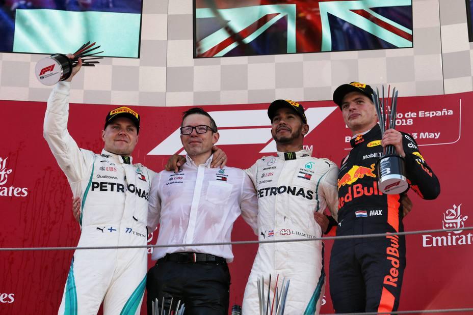 Podio GP España
