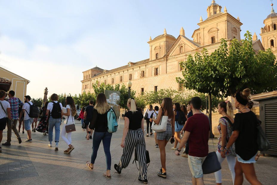 La UCAM inicia el curso con un nuevo aumento de estudiantes y potenciando la internacionalización