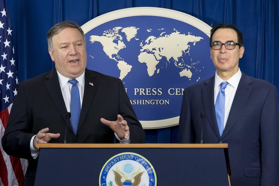 EEUU sanciona a 700 entidades iraníes, pero exime a China y otros 7 países
